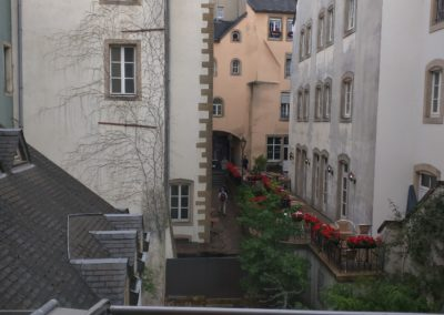 Luxembourg City Alley View