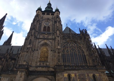 Prague Castle - St. Vitus Cathedral