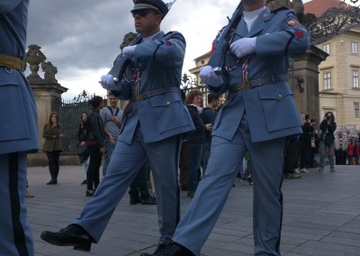 Prague - guard change