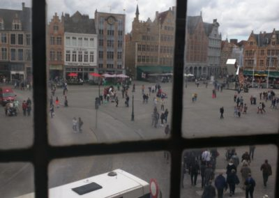 Bruges City Center from Beer Museum