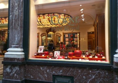 Corne Port Royal Chocolate Shop in Brussels
