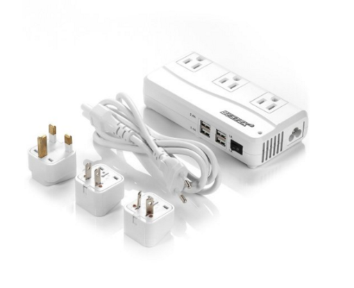 Bestek Travel Power Strip and International Adapter
