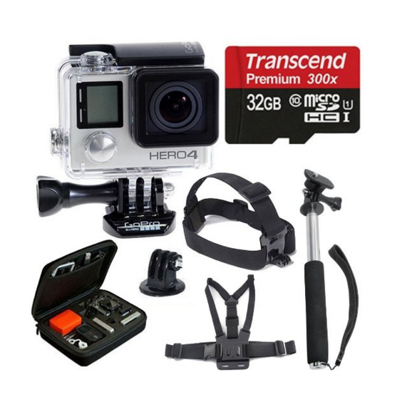 GoPro Hero 4 Silver Pack