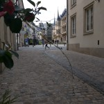 Luxembourg - City Street - Europe
