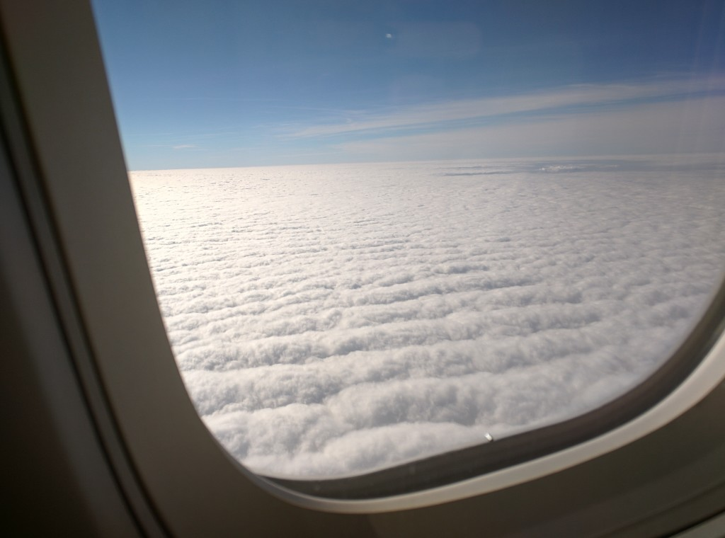Clouds - plane - How Travel Changed Me In 2015