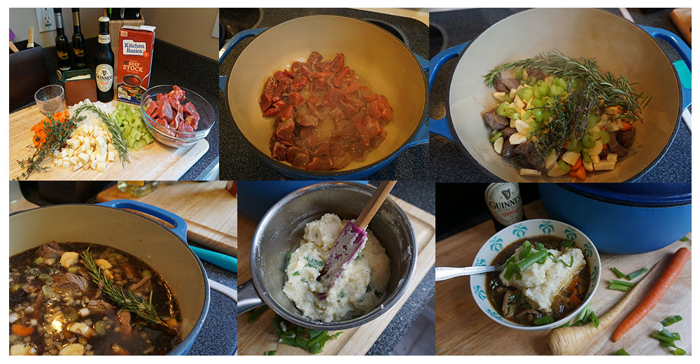 Guiness Beef Stew - Stew - Guinness - Beef - Ireland - Collage